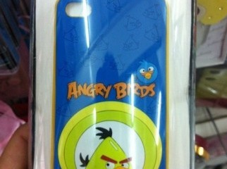 Minson Case For IPhone 4 4S Angry Birds White