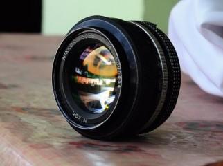 Nikon Nikkor 50mm f1.4 manual lens