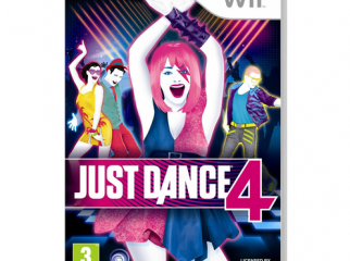 Just Dance 4 CD for Wii.