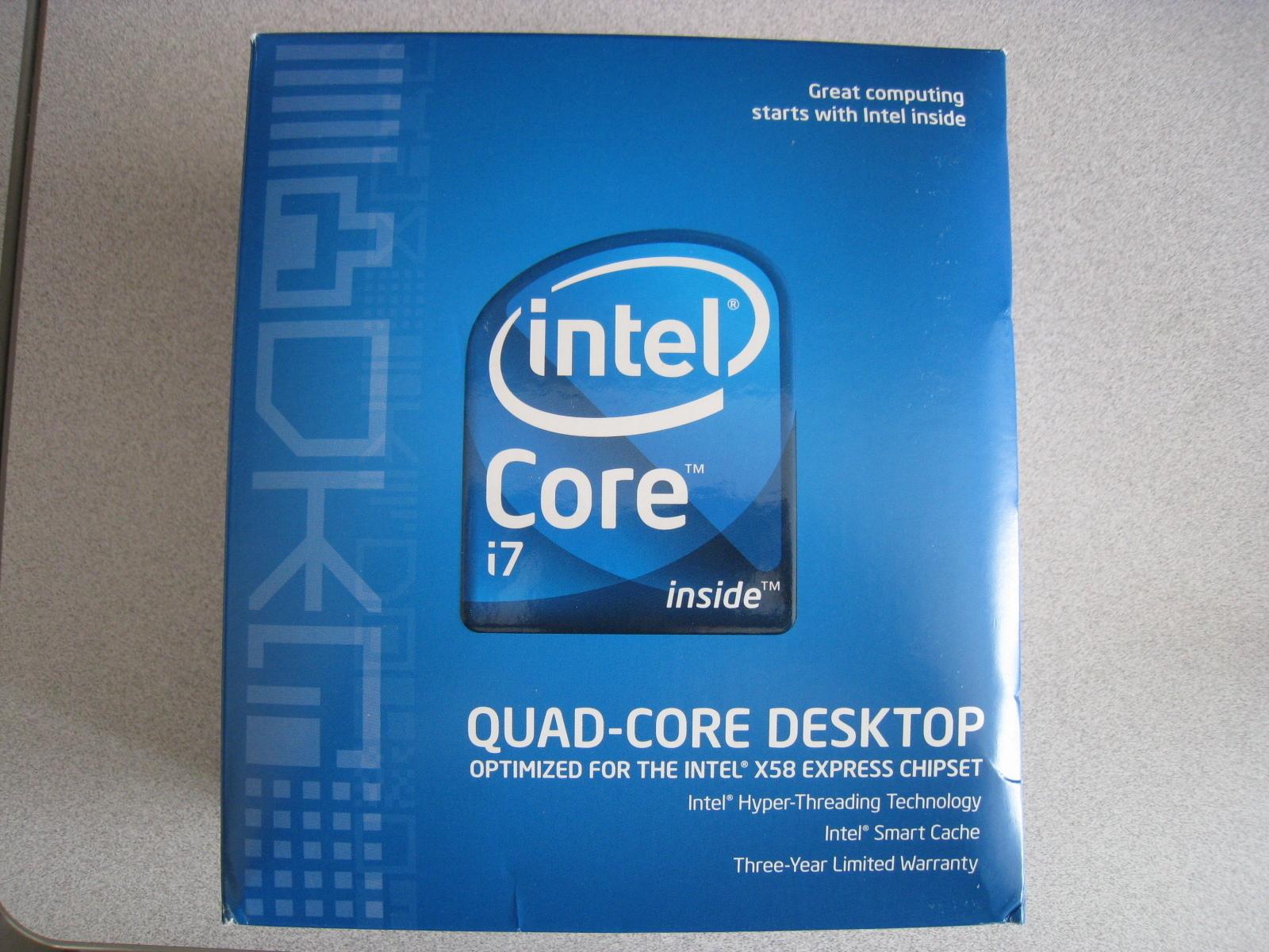 Intel Core I7 920 266GHz