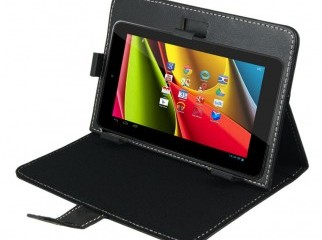 Style Stand Leather Cover for all 7 inch Tablet pc Black