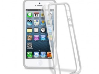 MOXIE Bumper for iPhone 5 White