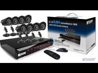 Kguard SHA108 Combo 8ch 8CC Standalone DVR CC Camera