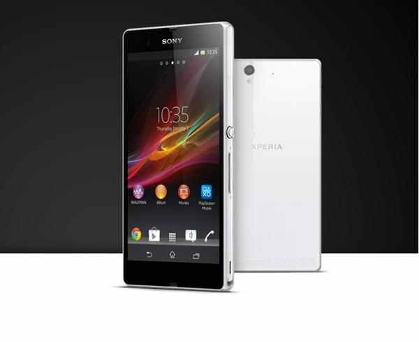 Sony Xperia Z white color 16GB   ClickBD