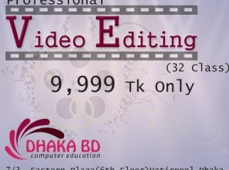 Want to be a video editor....
