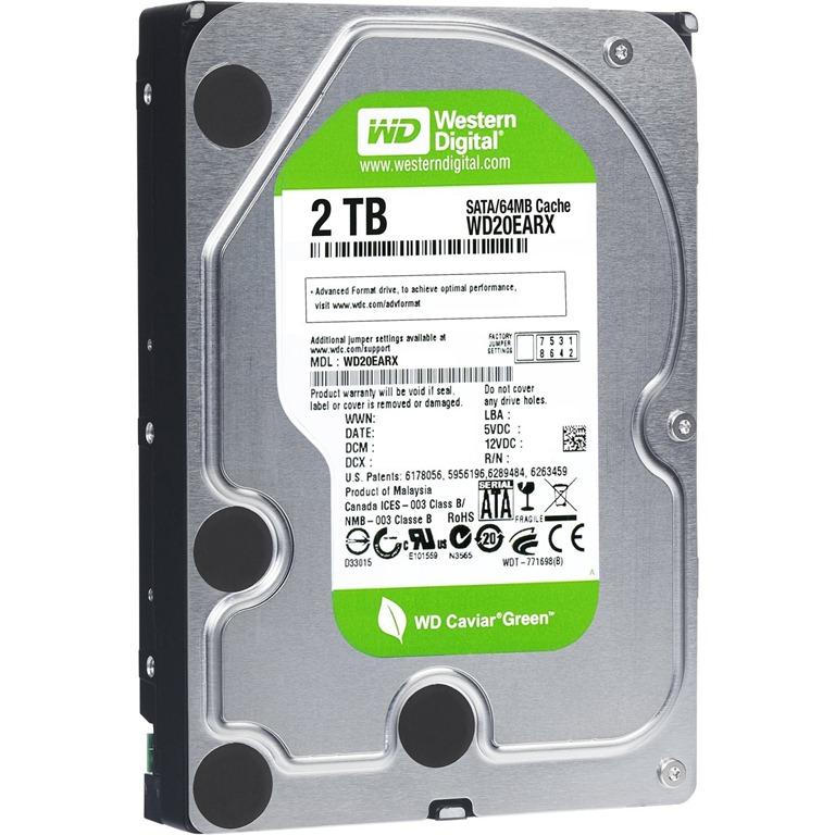 Western Digital 2TB SATA Hard Disk Free Home Delivery