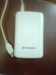 Second Hand Transcend 500 GB Portable Hard Drive