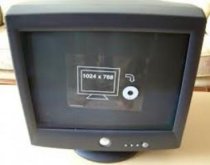dell 17 inch monitor TV card