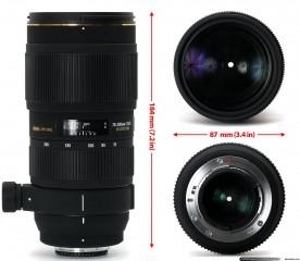 Sigma 70-200mm f 2.8 APO DG EX macro from uk canon mount