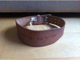 Weight Lifting Leather Belt 6
